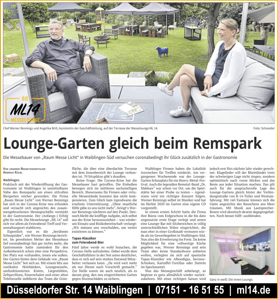 ML14 Interview mit ZVW